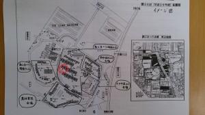 和泉市商工まつり出店位置